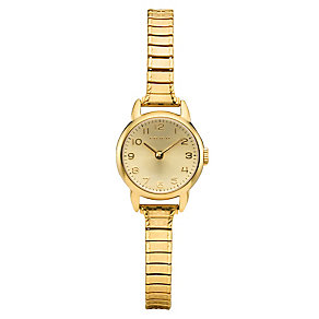 Coach ladies' gold-plated stretch bracelet watch - Product number 2174227
