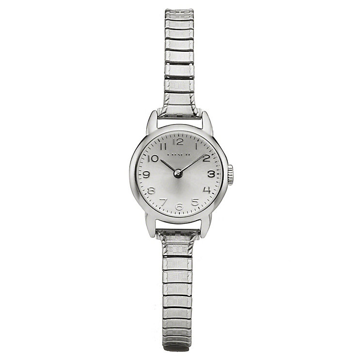Coach Georgie ladies' stainless steel stretch bracelet watch - Product number 2174286