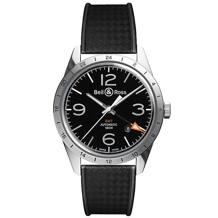 Bell & Ross men's rubber strap watch - Product number 2174944
