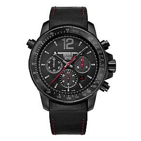Raymond Weil Nabu men's black chronograph strap watch - Product number 2175029