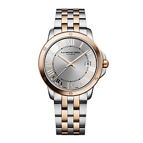Raymond Weil Tango men's two-tone bracelet watch - Product number 2175142