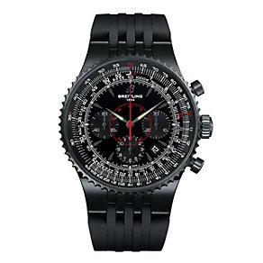 Breitling Montbrilliant men's black steel strap watch - Product number 2175177