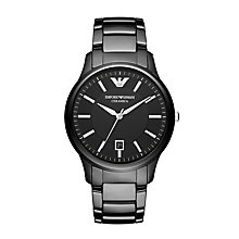 Emporio Armani black ceramic bracelet watch - Product number 2175185