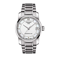 Tissot ladies' titanium & stainless steel bracelet watch - Product number 2175517