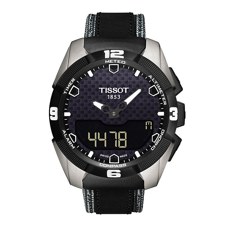 Tissot T-Touch black fabric strap watch - Product number 2175541