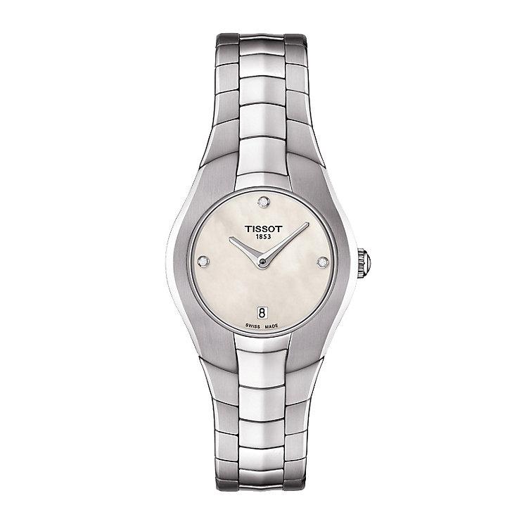 Tissot ladies' stainless steel bracelet watch. - Product number 2175606