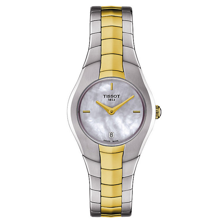 Tissot T-Round ladies' stainless steel bracelet watch - Product number 2175614