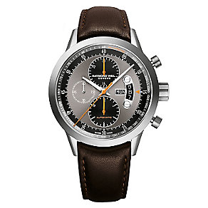 Raymond Weil Freelancer men's black leather strap watch - Product number 2176297
