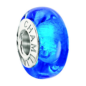 Chamilia Sterling Silver Capri Blue Murano Bead - Product number 2177676