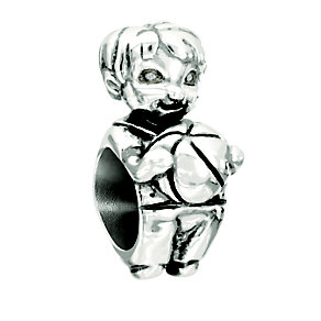 Chamilia Snips & Snails Sterling Silver Little Boy Bead - Product number 2177765