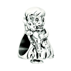Chamilia Sugar & Spice Sterling Silver Little Girl Bead - Product number 2177846