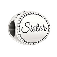 Chamilia Sterling Silver Milgrain Sister Bead - Product number 2178257
