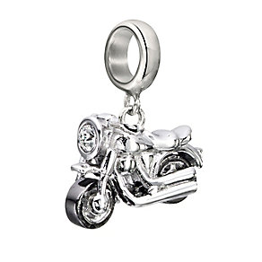 Chamilia Sterling Silver Motorin' Motorcycle Bead - Product number 2178265