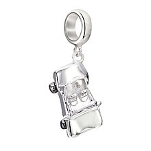 Chamilia Silver Drop Top Roadster Convertible Car Charm - Product number 2178273