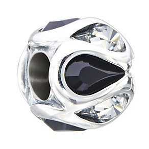 Chamilia Embrace Clear & Black Swarovski Crystal Bead - Product number 2178524
