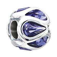 Chamilia Embrace Tanzanite Swarovski Crystal Bead - Product number 2178540