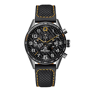 Tag Heuer Carrera men's brown leather strap watch - Product number 2179601