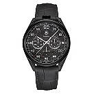Tag Heuer Carrera men's black leather strap watch - Product number 2179687