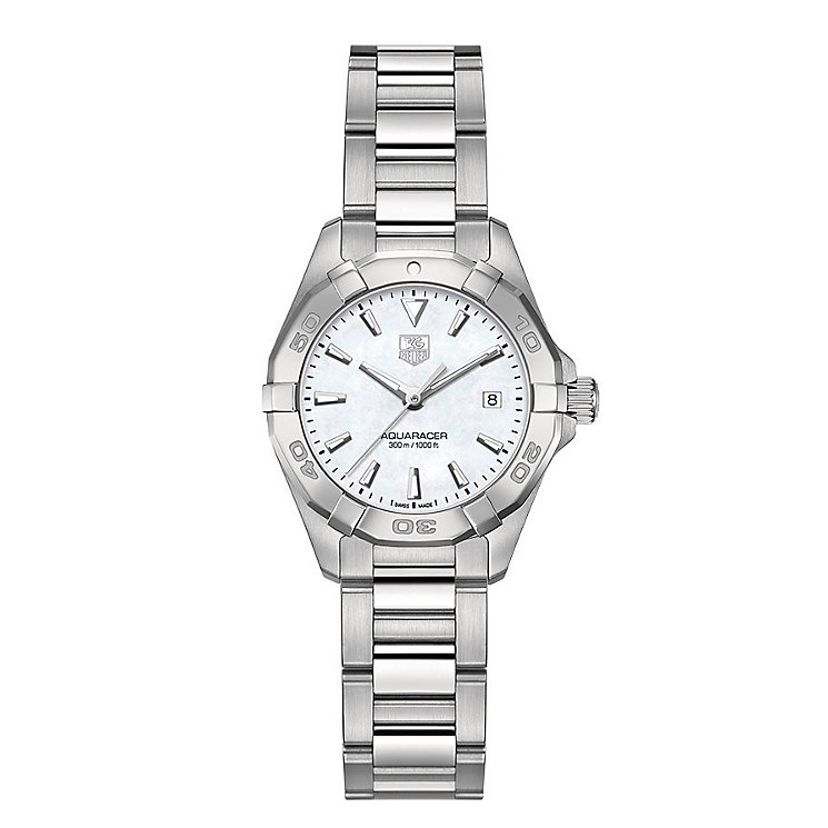 Tag Heuer Aquaracer ladies' stainless steel bracelet watch - Product number 2179695
