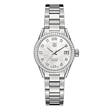 Tag Heuer Carrera ladies' stainless steel bracelet watch - Product number 2179709