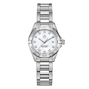 Tag Heuer Aquaracer ladies' stainless steel bracelet watch - Product number 2179857