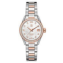 TAG Heuer Carrera ladies' two colour bracelet watch - Product number 2179865
