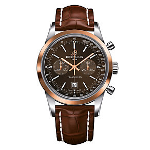Breitling Transocean ladies' two colour bracelet watch - Product number 2179911