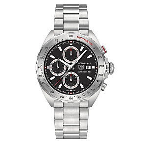 Tag Heuer F1 stainless steel chronograph bracelet watch - Product number 2179989