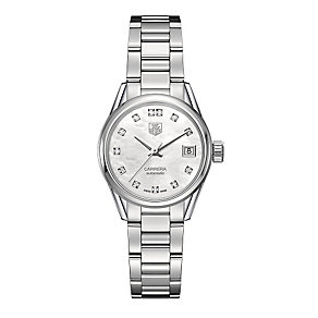 TAG Heuer Carrera ladies' stainless steel bracelet watch - Product number 2180049