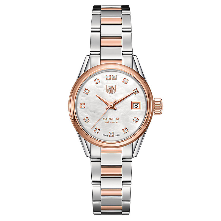 TAG Heuer Carrera ladies' two colour bracelet watch - Product number 2180251
