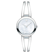 Movado ladies' stainless steel bracelet watch - Product number 2180308