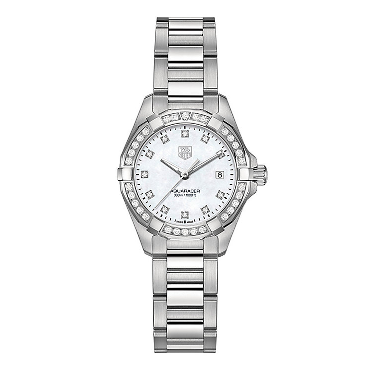Tag Heuer Aquaracer ladies' stainless steel bracelet watch - Product number 2180340