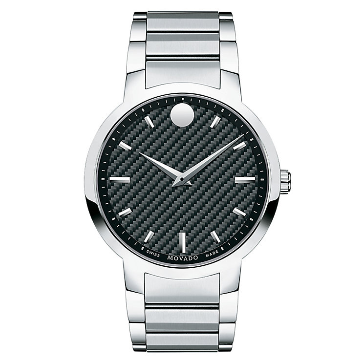 Movado men's stainless steel bracelet watch - Product number 2180359