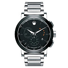 Movado Museum Sport men's stainless steel bracelet watch - Product number 2180367