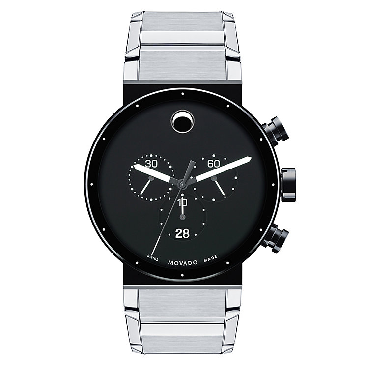 Movado Sapphire Synergy men's stainless steel bracelet watch - Product number 2180456