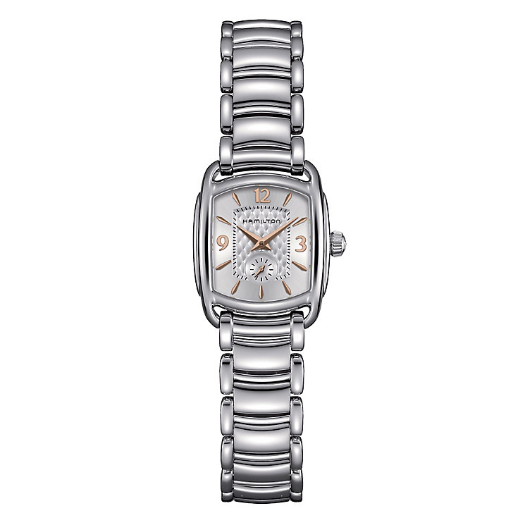 Hamilton ladies' stainless steel bracelet watch - Product number 2181541
