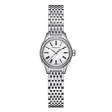 Hamilton ladies' stainless steel diamond bracelet watch - Product number 2181606