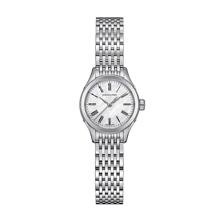 Hamilton ladies' stainless steel bracelet watch - Product number 2181614