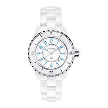 Chanel J12 Ladies' White Ceramic Bracelet Watch - Product number 2183633