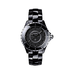 Chanel J12 Black Ceramic Bracelet Watch - Product number 2183676