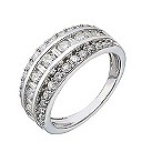 18ct white gold one carat diamond eternity ring - Product number 2184605