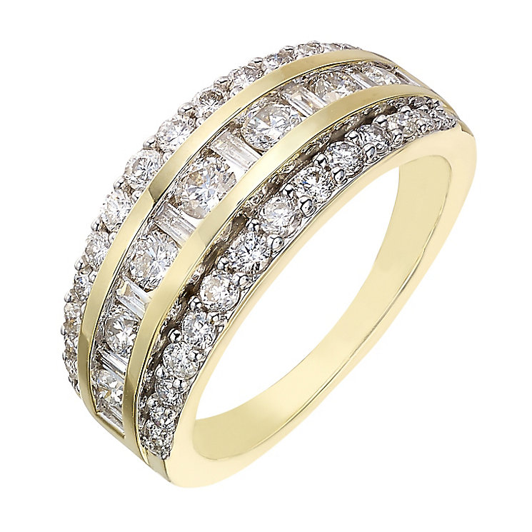 18ct gold 1 carat diamond eternity ring - Product number 2184613