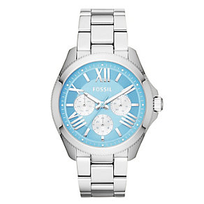 Fossil Cecile Ladies' Light Blue And Silver Tone Watch - Product number 2185717
