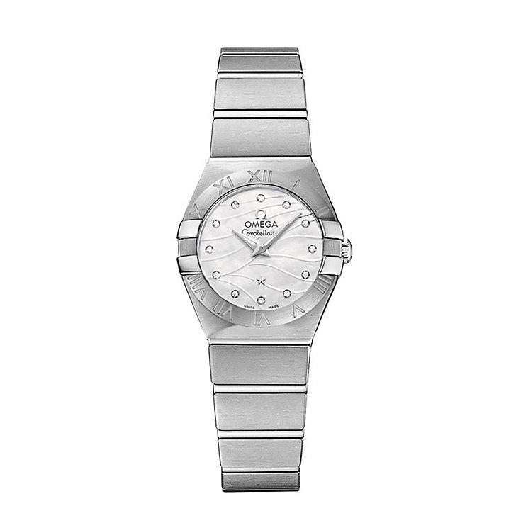 Omega Constellation Quartz ladies' bracelet watch - Product number 2185784