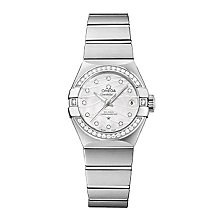 Omega Constellation ladies' stainless steel bracelet watch - Product number 2185792