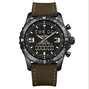 Breitling Chronospace Military men's canvas strap watch - Product number 2186543