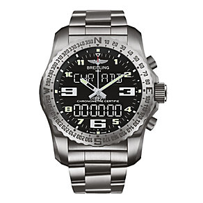 Breitling Cockpit B50 men's stainless steel bracelet watch - Product number 2186551