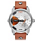 Diesel Men's Mini Daddy Collection Watch With Leather Strap - Product number 2187973