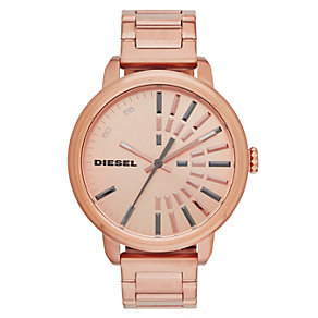 Diesel Ladies' Rose & Gunmetal Grey Flare Collection Watch - Product number 2188120