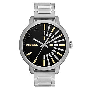 Diesel Ladies' Silver & Gold Tone Flare Collection Watch - Product number 2188139